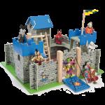 Castillo de madera Castillo excalibur azul-0