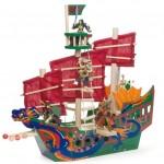 Barco de madera shangai-0