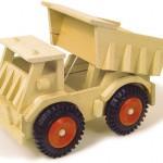 Camión con ruedas de plástico-0