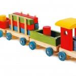 """Tren de madera infantil """"Emil""""-0"""