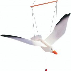 móvil infantil de decoración gaviota voladora-0