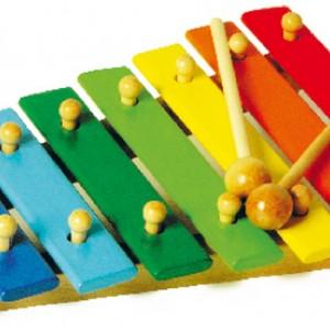 Xilófono infantil multicolor-0
