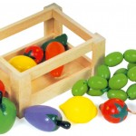 Caja verduras de madera para jugar-0