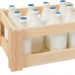 Botella de leche de madera para jugar-0