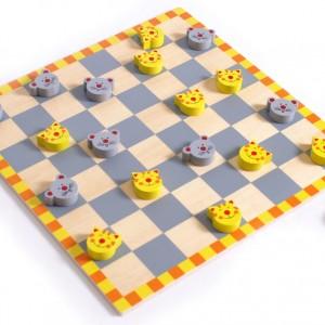 """Juego de damas para niños """"Gato y ratón""""-0"""