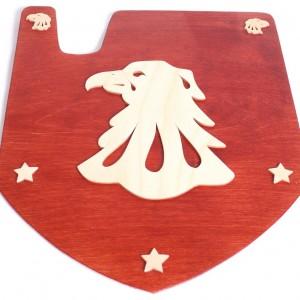 Escudo halcón para disfraces infantiles-0
