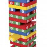Jenga de madera con numeros-0