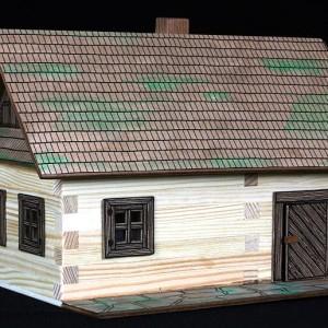 maqueta de madera para construir casa de campo-0