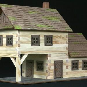 maqueta de madera para construir taverna-0