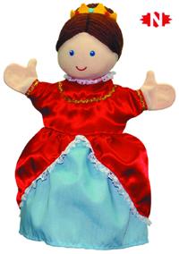 Marioneta de mano reina-0