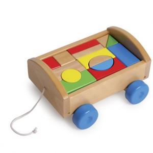 Juego infantil de construcción carrito-0