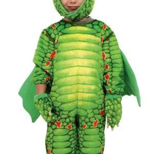 Disfraz de dragón 2-3 Años-0