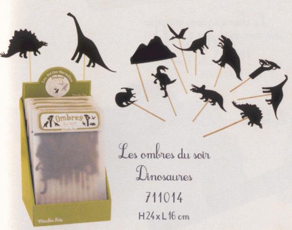 Juego de sombras de los Dinosaurios-7075