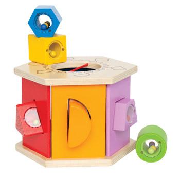 Caja formas de madera-7381