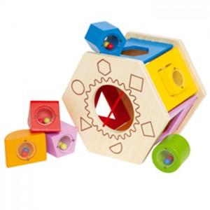 Caja formas de madera-0