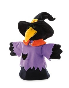 Marioneta de mano Cuervo -Bruja-0