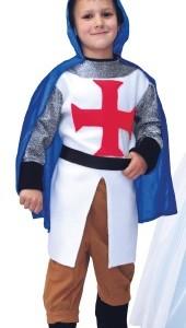 Disfraz de Caballero Templario 6-7 Años-0