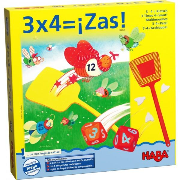 Juego 3 x 4 = ¡Zas!-0