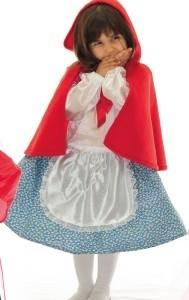 Disfraz de Caperucita para 4-5 Años-0