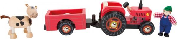 Tractor con remolque, Granja-8965