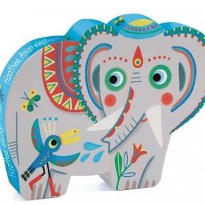 Puzzle Elefante 24 Piezas-0