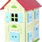 Casa de muñecas con techo desmontable3