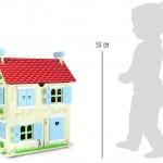 Casa de muñecas con techo desmontable4