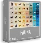 Puzzle Fauna de 1000 Piezas