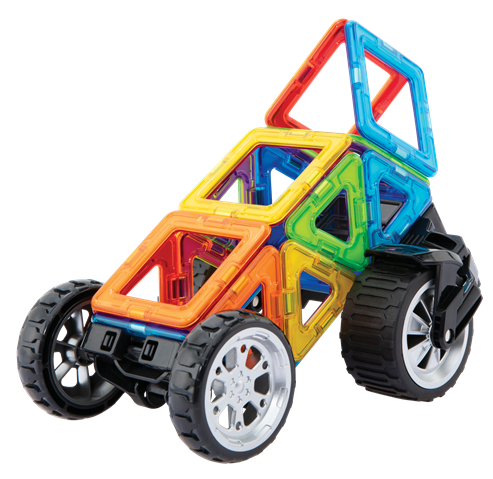 Magformers 17 Pcs Vehiculo -10033
