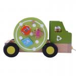 Tirador camión reciclaje